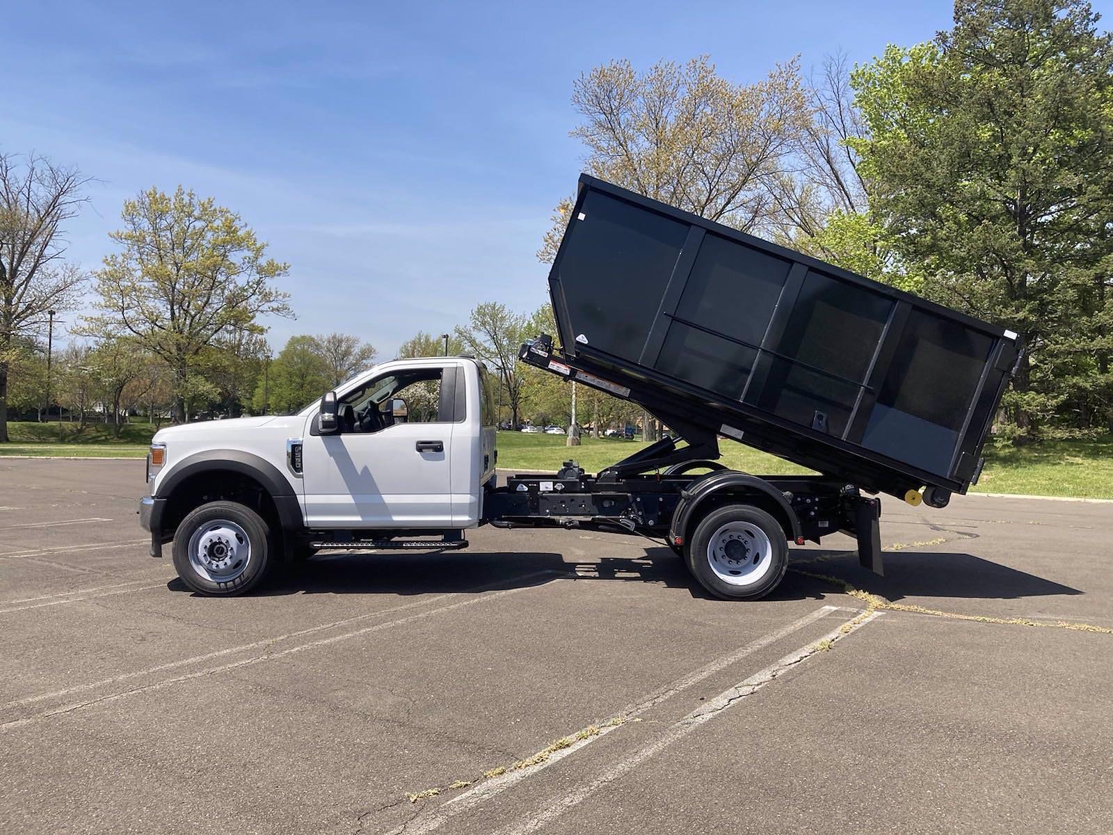 2020 Ford F-550 Regular Cab DRW 4x4, Switch N Go Drop Box Hooklift Body #FLU00848 - photo 14