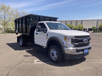 2020 Ford F-550 Regular Cab DRW 4x4, Switch N Go Drop Box Hooklift Body #FLU00848 - photo 1