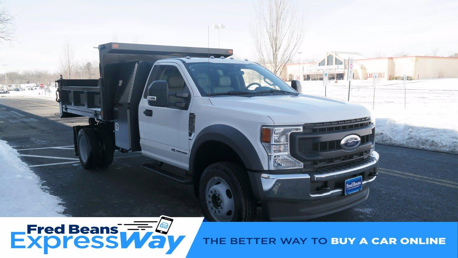 2020 Ford F-550 Regular Cab DRW 4x4, SH Truck Bodies Dump Body #FLU00850 - photo 1