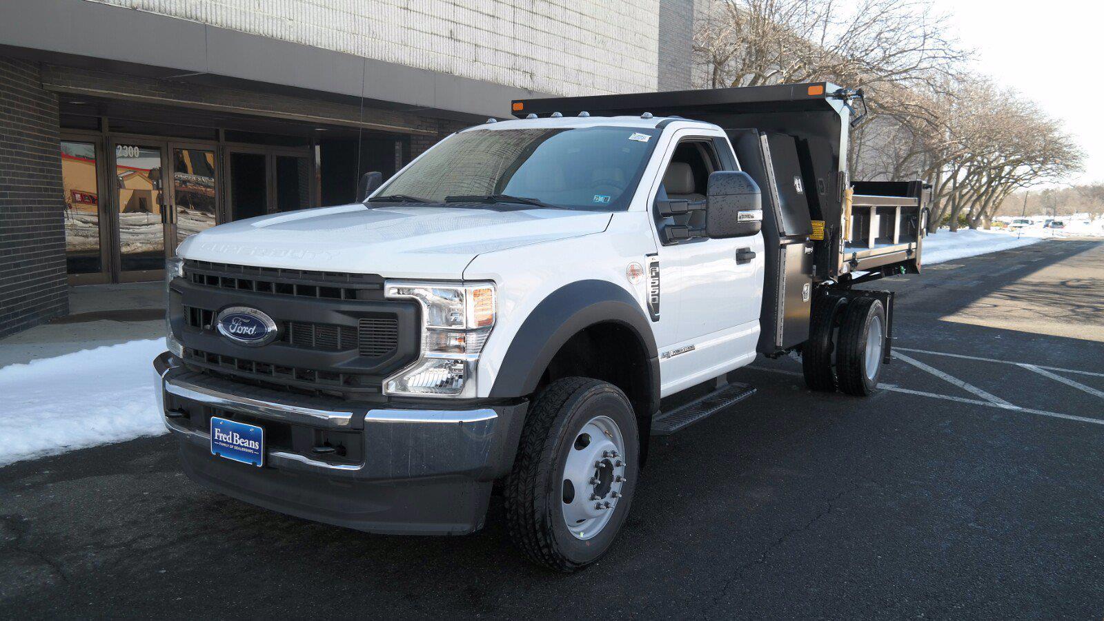 2020 Ford F-550 Regular Cab DRW 4x4, SH Truck Bodies Dump Body #FLU00850 - photo 4