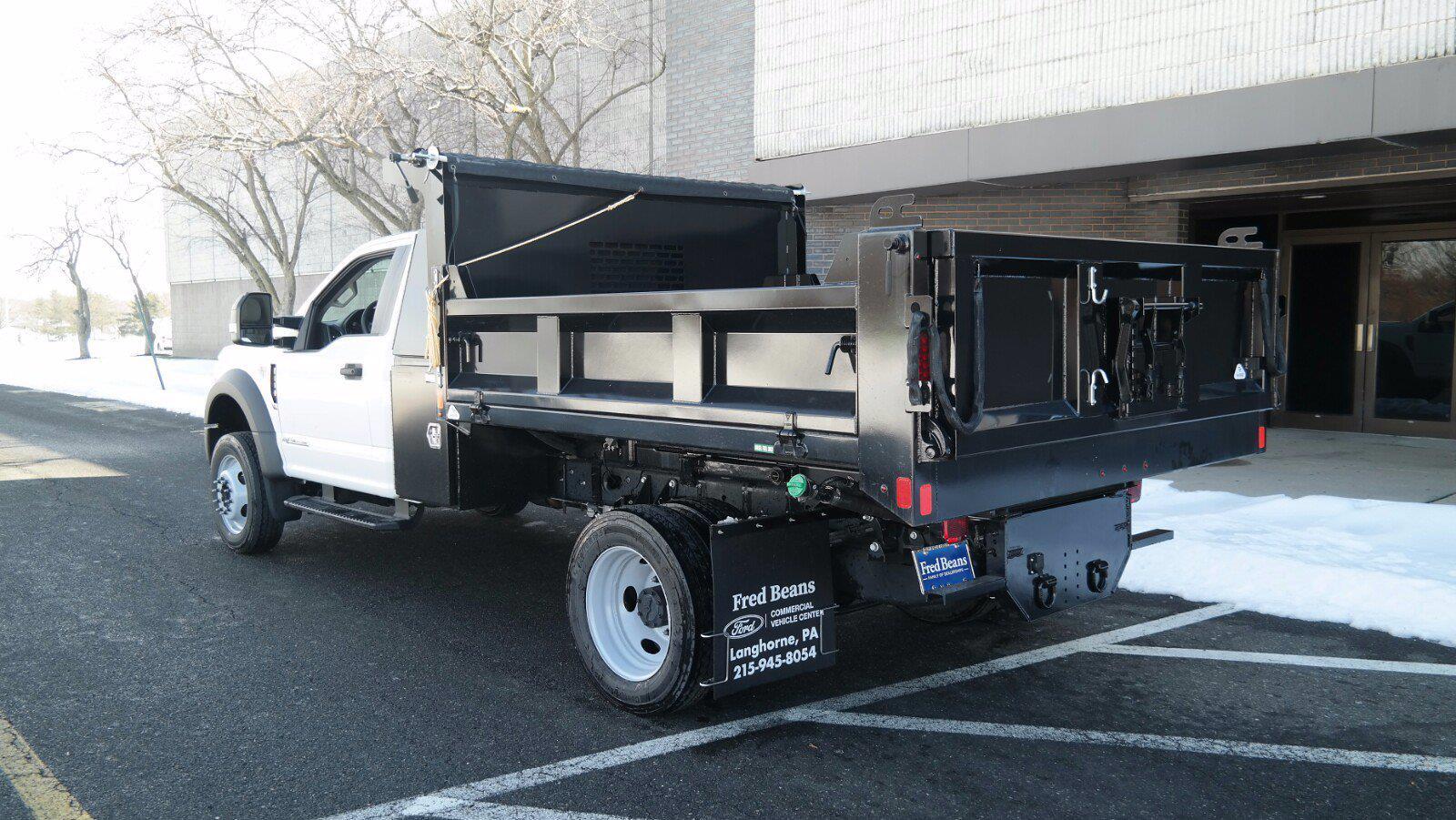 2020 Ford F-550 Regular Cab DRW 4x4, SH Truck Bodies Dump Body #FLU00850 - photo 5