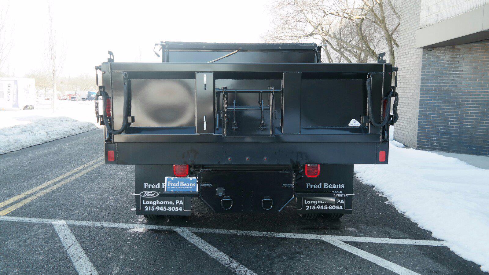 2020 Ford F-550 Regular Cab DRW 4x4, SH Truck Bodies Dump Body #FLU00850 - photo 6