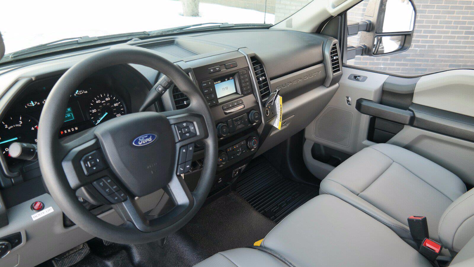2020 Ford F-550 Regular Cab DRW 4x4, SH Truck Bodies Dump Body #FLU00850 - photo 10