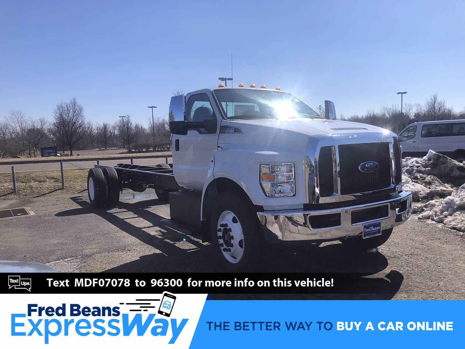2021 Ford F-650 Regular Cab DRW 4x2, Cab Chassis #FLU00899 - photo 1