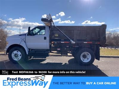 2021 Ford F-650 Regular Cab DRW 4x2, Godwin 300U Dump Body #FLU00950 - photo 1