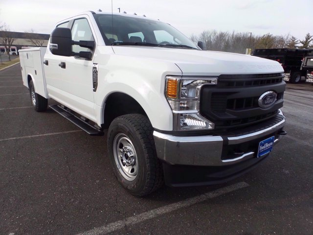 2020 Ford F-350 Crew Cab 4x4, Reading Service Body #FLU01006 - photo 4