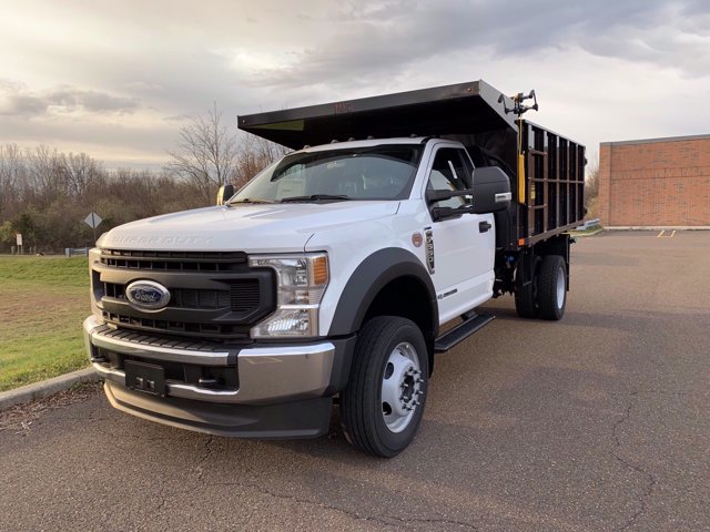 2020 Ford F-550 Regular Cab DRW 4x4, PJ's Platform Body #FLU01044 - photo 8