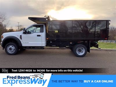 2020 Ford F-550 Regular Cab DRW 4x4, PJ's Platform Body #FLU01044 - photo 1