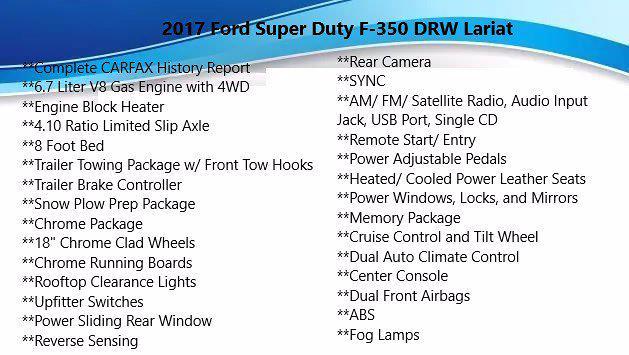 2017 Ford F-350 Crew Cab DRW 4x4, Pickup #FLU010551 - photo 4