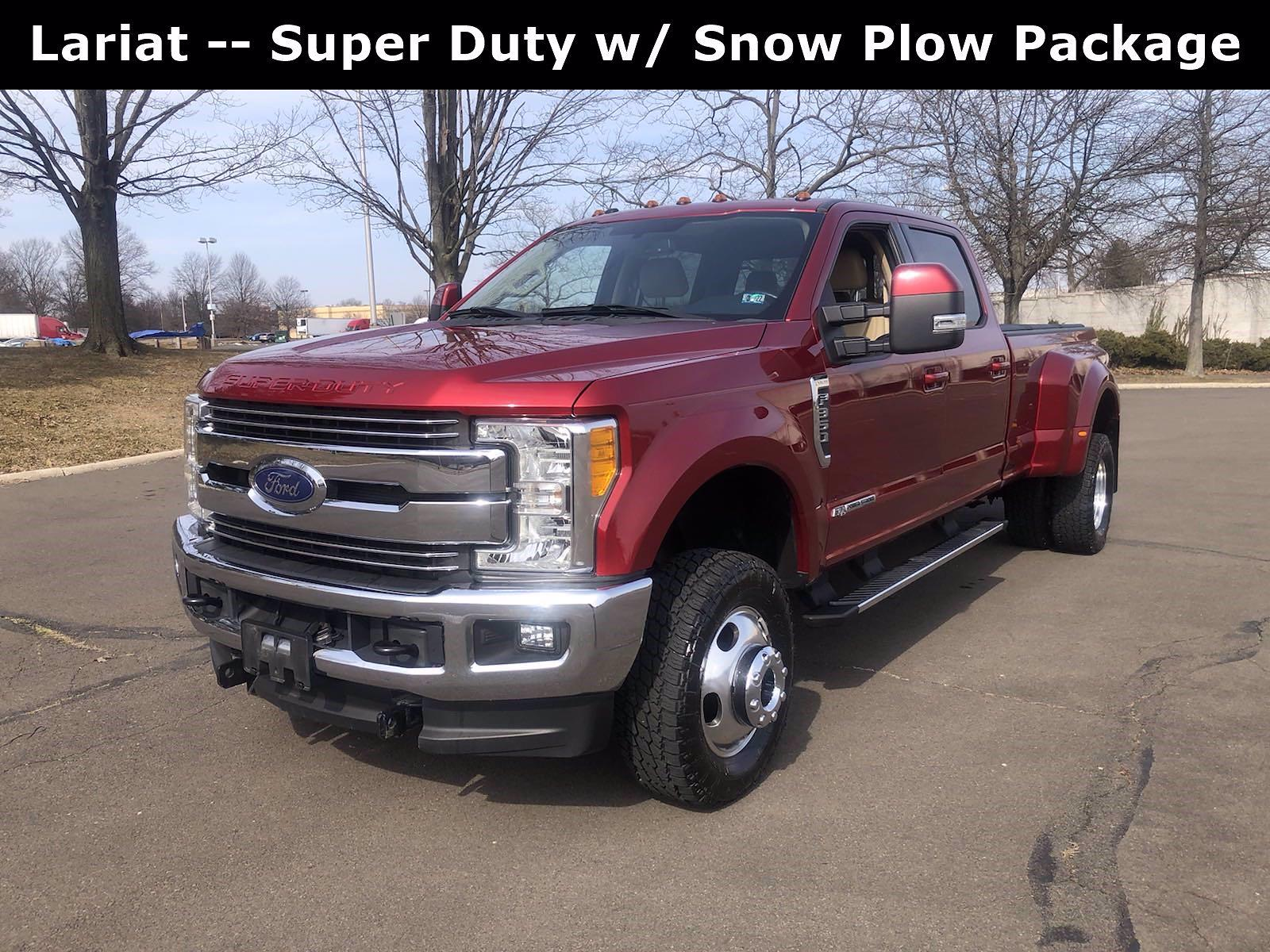 2017 Ford F-350 Crew Cab DRW 4x4, Pickup #FLU010551 - photo 5