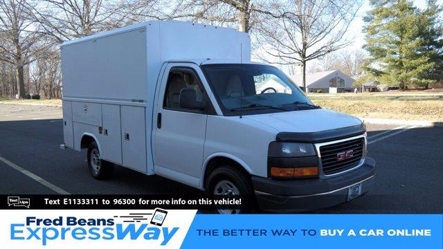 2014 GMC Savana 3500 4x2, Service Utility Van #FLU010712 - photo 1