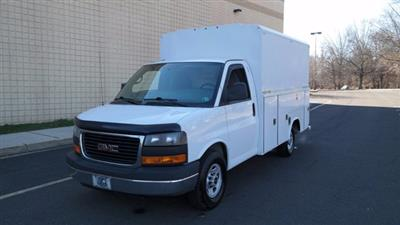 2014 GMC Savana 3500 4x2, Service Utility Van #FLU010712 - photo 4