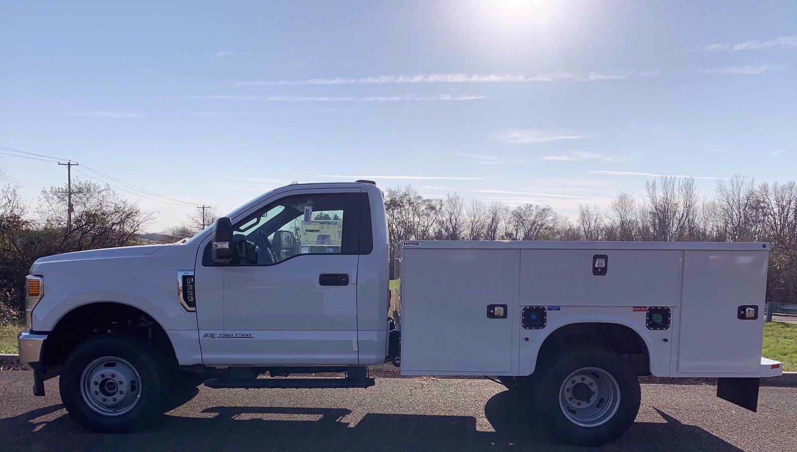2020 Ford F-350 Regular Cab DRW 4x4, Knapheide Steel Service Body #FLU01078 - photo 3