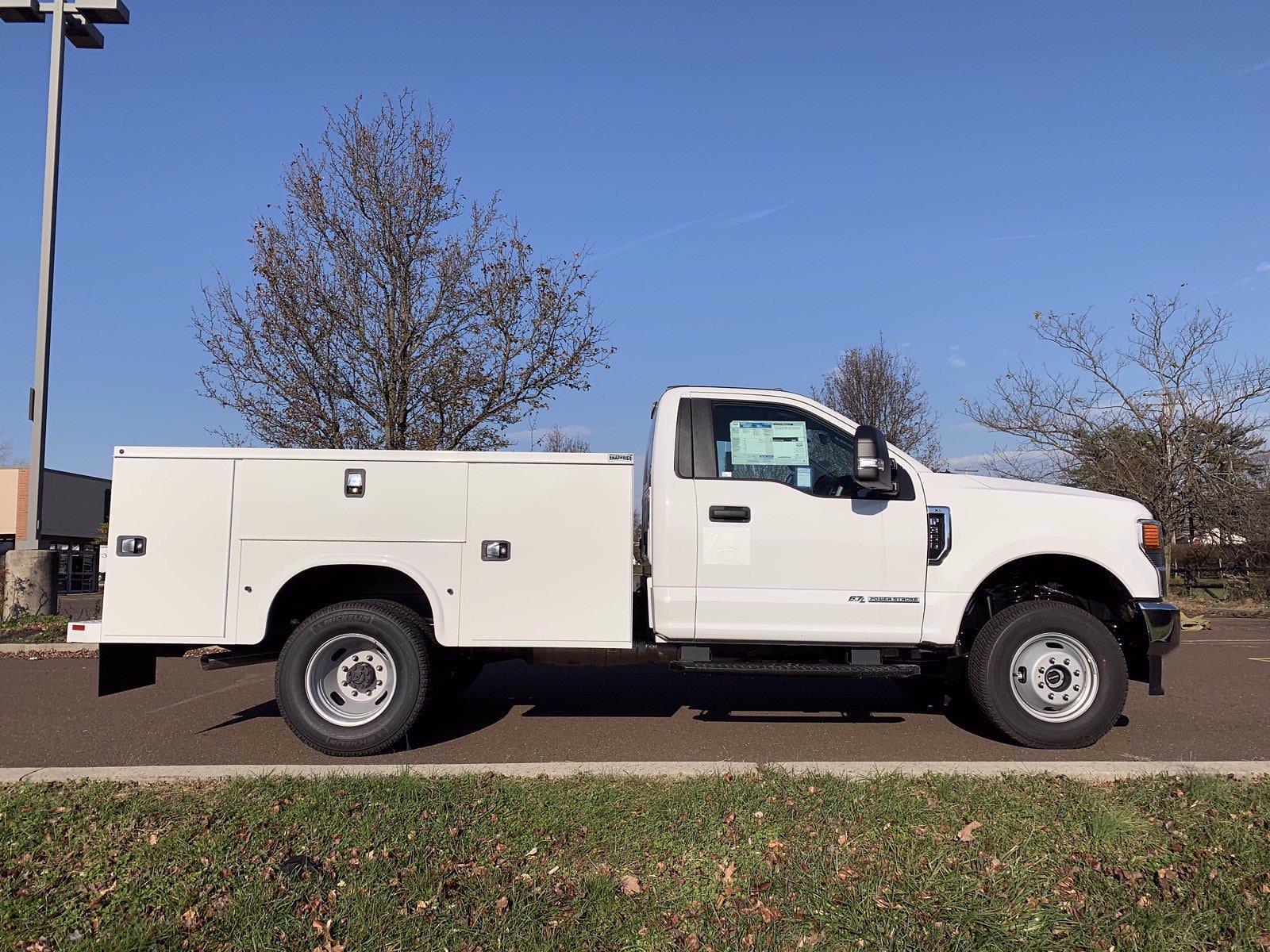 2020 Ford F-350 Regular Cab DRW 4x4, Knapheide Steel Service Body #FLU01078 - photo 9