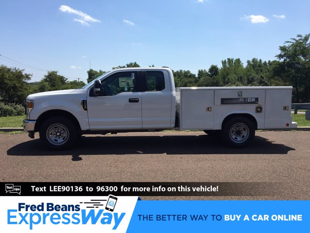 2020 Ford F-350 Super Cab 4x2, Reading Classic II Steel Service Body #FLU01111 - photo 1