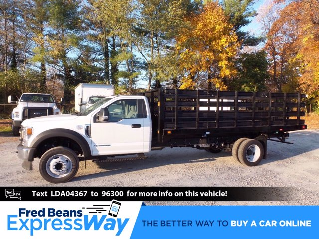 2020 Ford F-550 Regular Cab DRW 4x2, Knapheide Value-Master X Stake Bed #FLU01123 - photo 1