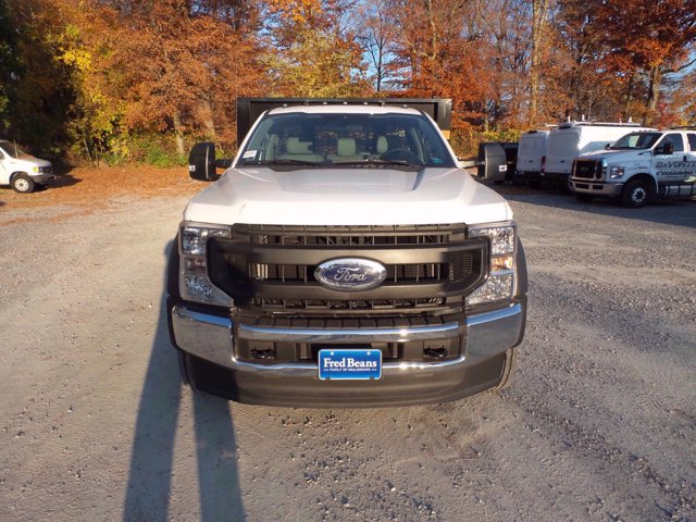 2020 Ford F-550 Regular Cab DRW 4x2, Knapheide Value-Master X Stake Bed #FLU01123 - photo 3
