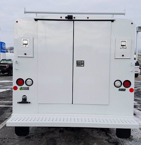 2020 Ford Transit 350 4x2, Reading Aluminum CSV Service Utility Van #FLU01129 - photo 3