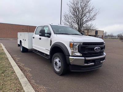 2020 Ford F-450 Crew Cab DRW 4x4, Knapheide Steel Service Body #FLU01146 - photo 6