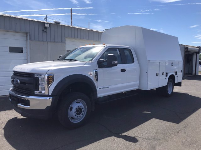 2020 Ford F-450 Super Cab DRW 4x4, Knapheide KUVcc Service Body #FLU01151 - photo 4