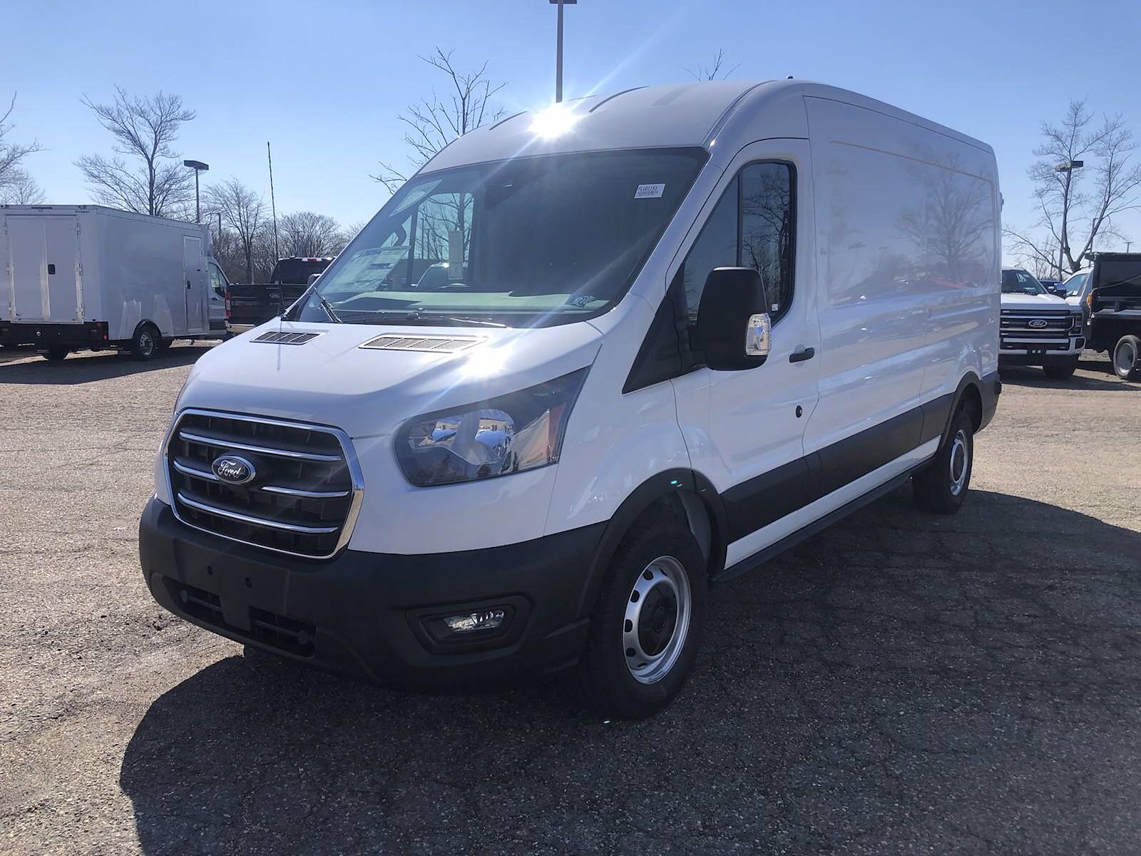 2020 Ford Transit 250 Med Roof 4x2, Empty Cargo Van #FLU01153 - photo 3