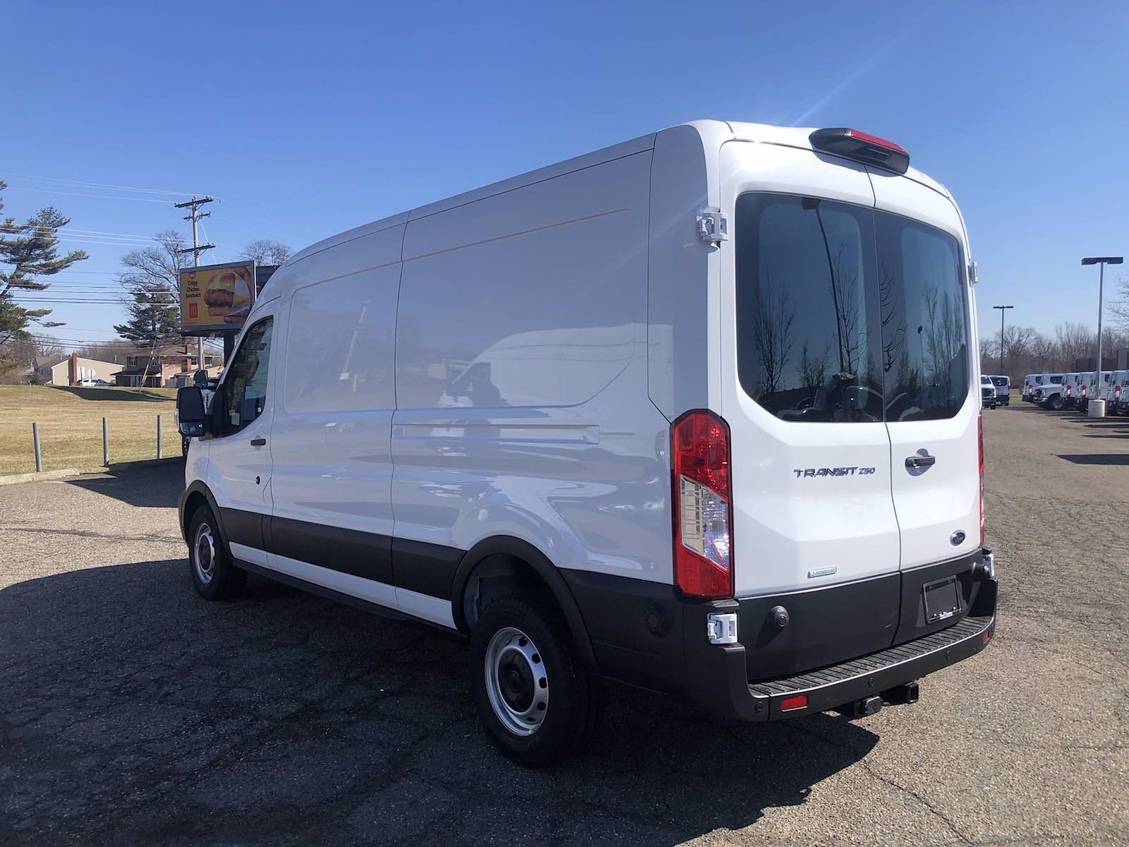 2020 Ford Transit 250 Med Roof 4x2, Empty Cargo Van #FLU01153 - photo 4