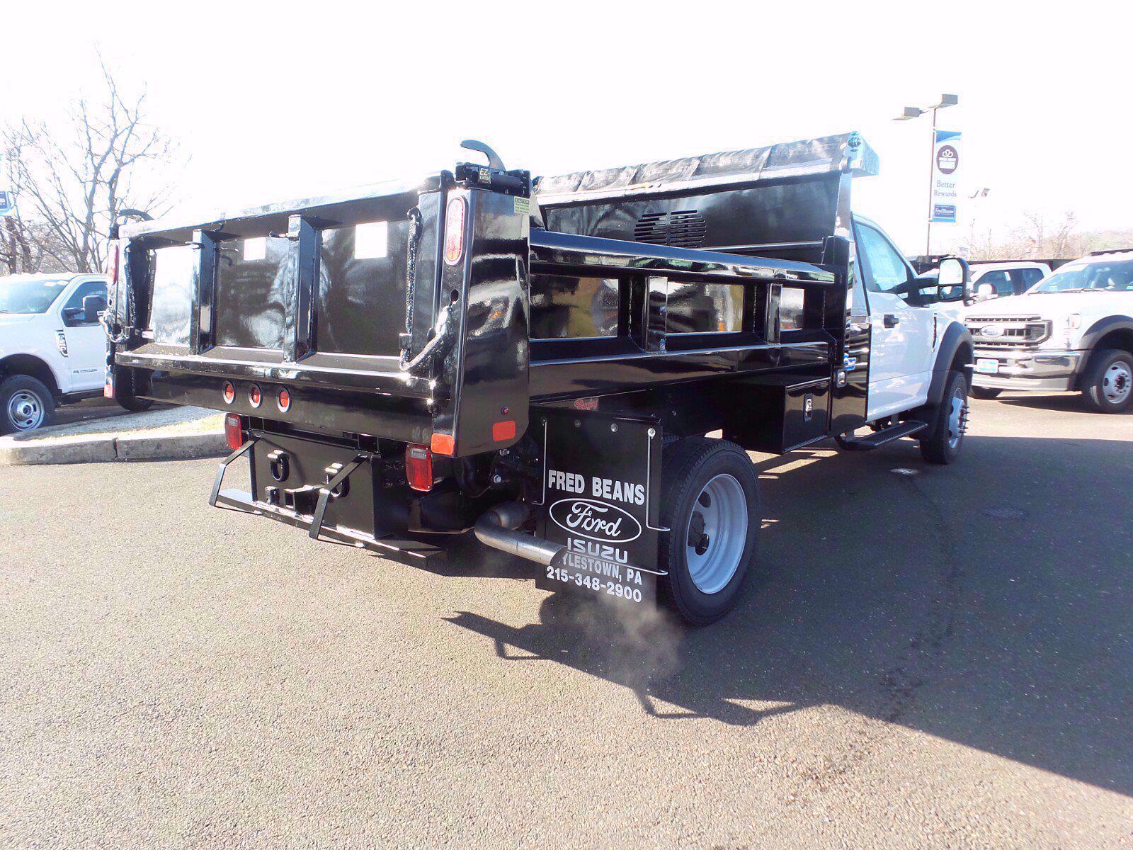2020 F-450 Regular Cab DRW 4x4,  Rugby Eliminator LP Steel Dump Body #FLU01184 - photo 13
