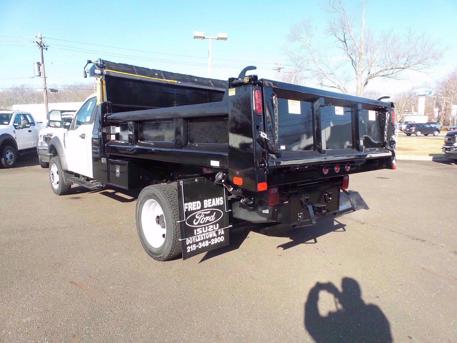 2020 F-450 Regular Cab DRW 4x4,  Rugby Eliminator LP Steel Dump Body #FLU01184 - photo 14