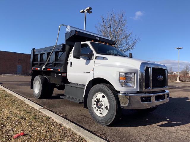 2021 Ford F-650 Regular Cab DRW 4x2, Godwin 300U Dump Body #FLU10004 - photo 6