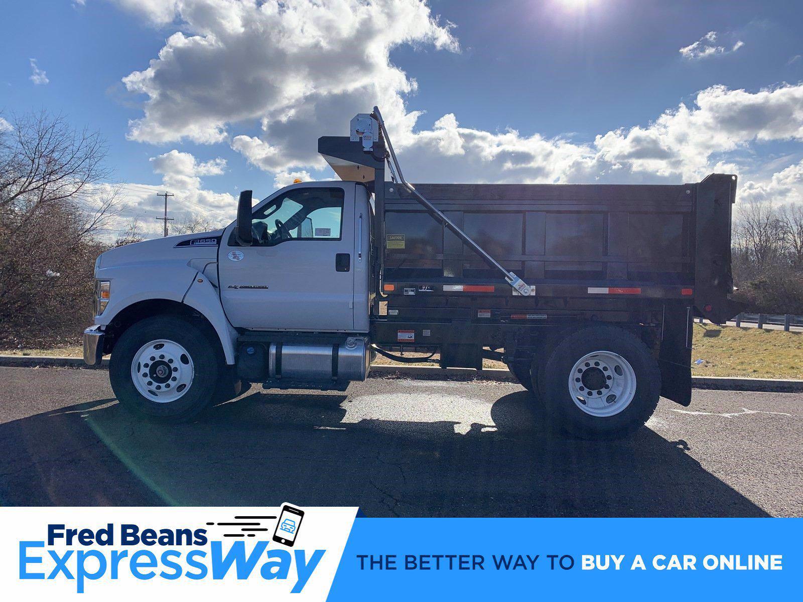 2021 Ford F-650 Regular Cab DRW 4x2, Godwin 300U Dump Body #FLU10004 - photo 9