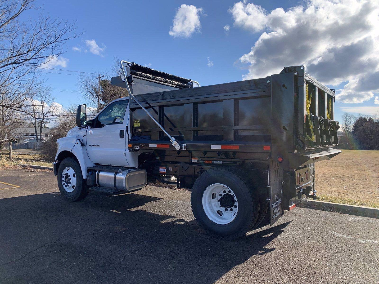 2021 Ford F-650 Regular Cab DRW 4x2, Godwin 300U Dump Body #FLU10004 - photo 10