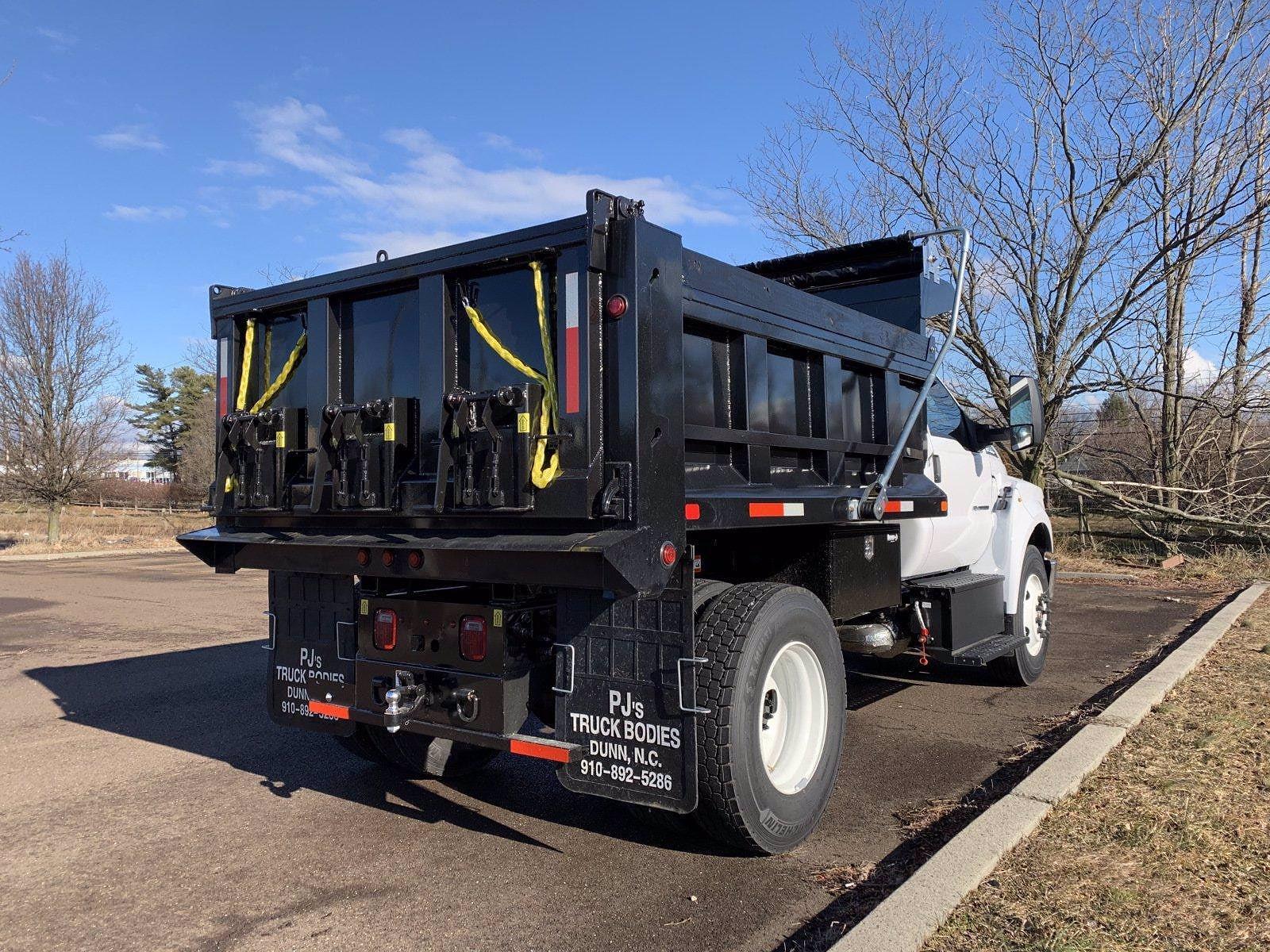 2021 F-650 Regular Cab DRW 4x2,  Godwin 300U Dump Body #FLU10004 - photo 13