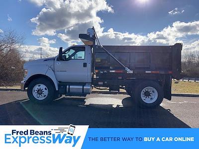 2021 F-650 Regular Cab DRW 4x2,  Godwin 300U Dump Body #FLU10004 - photo 9