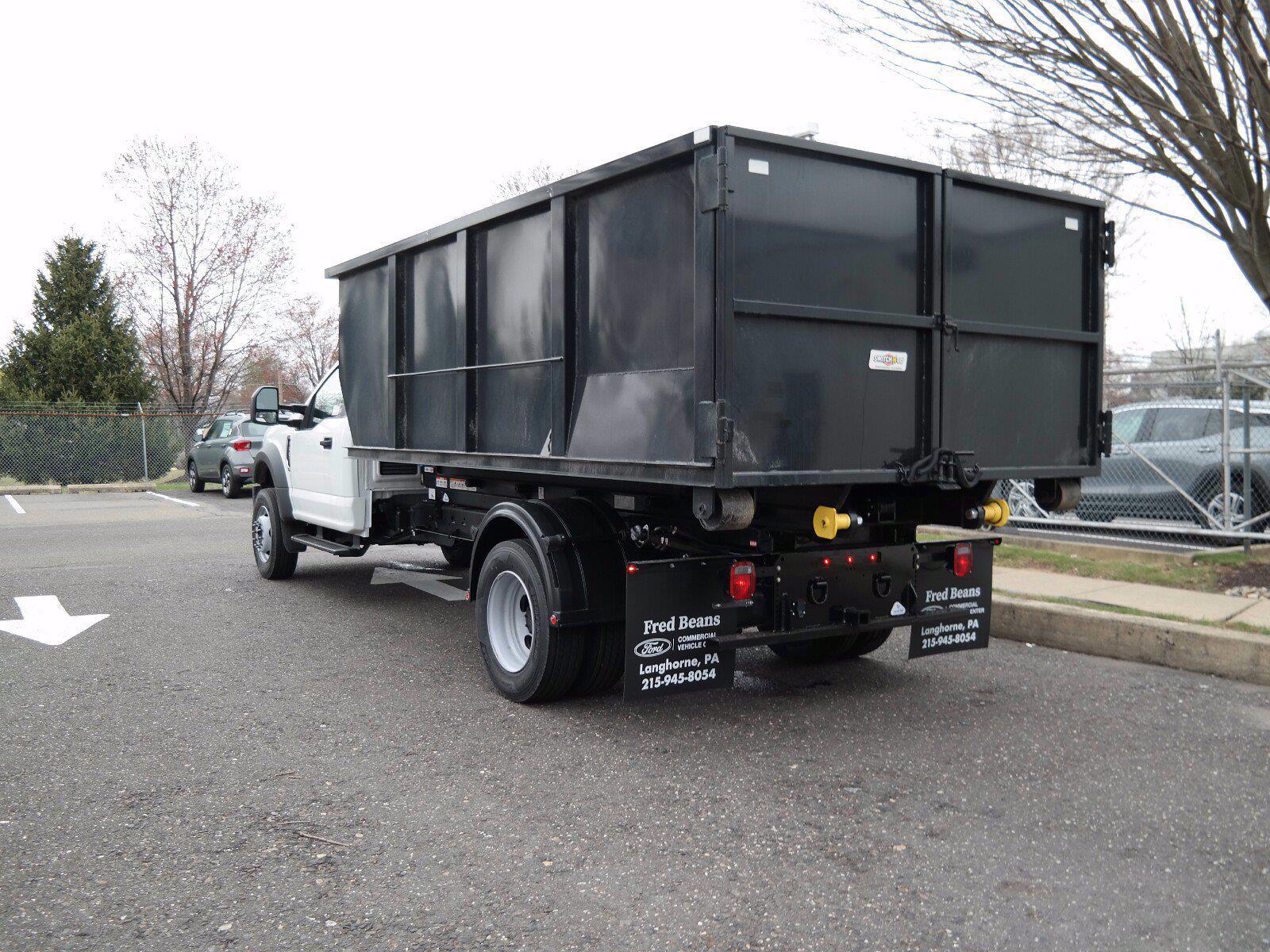 2021 Ford F-600 Regular Cab DRW 4x4, Switch N Go Drop Box Hooklift Body #FLU10027 - photo 7