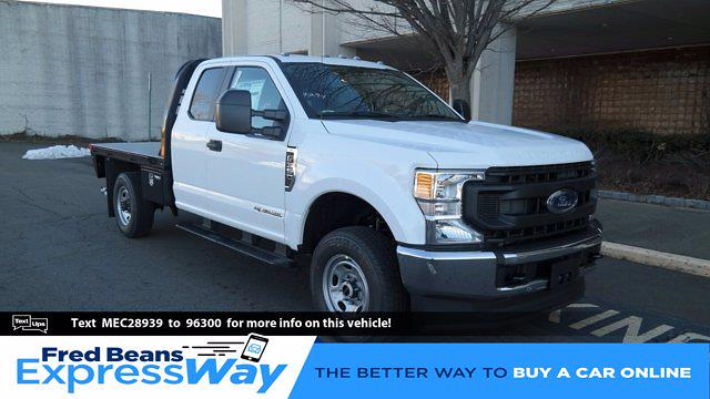 2021 Ford F-350 Super Cab 4x4, CM Truck Beds RD Model Platform Body #FLU10032 - photo 1
