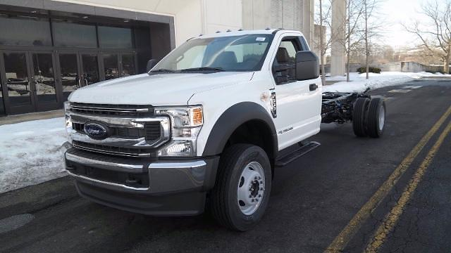 2021 Ford F-600 Regular Cab DRW 4x4, Cab Chassis #FLU10034 - photo 4