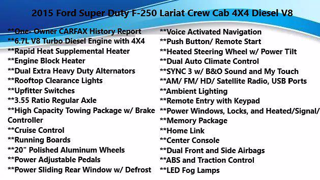 2015 Ford F-250 Crew Cab 4x4, Pickup #FLU100831 - photo 4