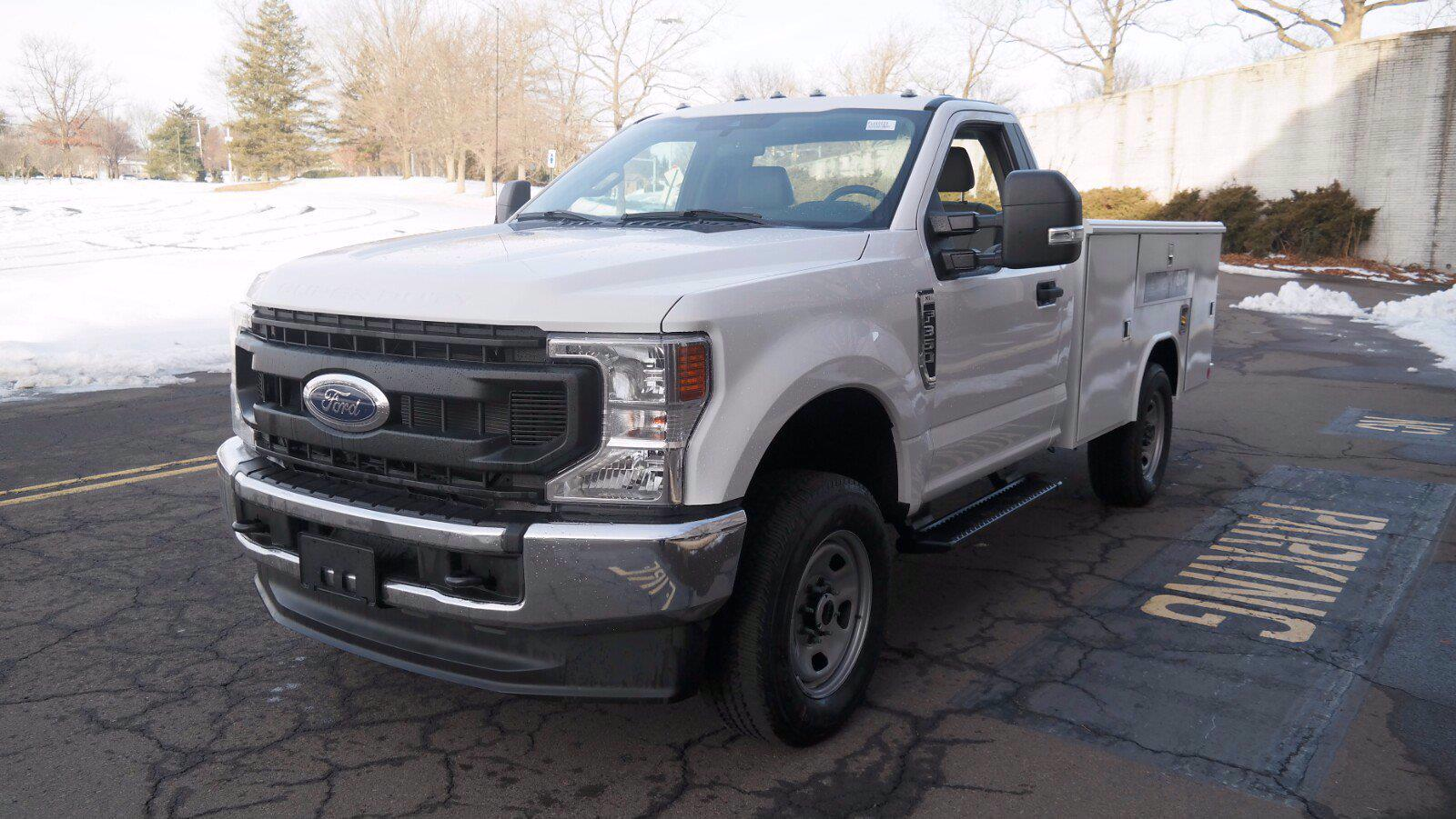 2021 Ford F-350 Regular Cab 4x4, Reading Classic II Steel Service Body #FLU10123 - photo 4