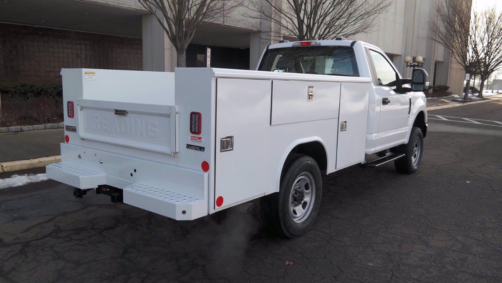 2021 Ford F-350 Regular Cab 4x4, Reading Classic II Steel Service Body #FLU10123 - photo 2
