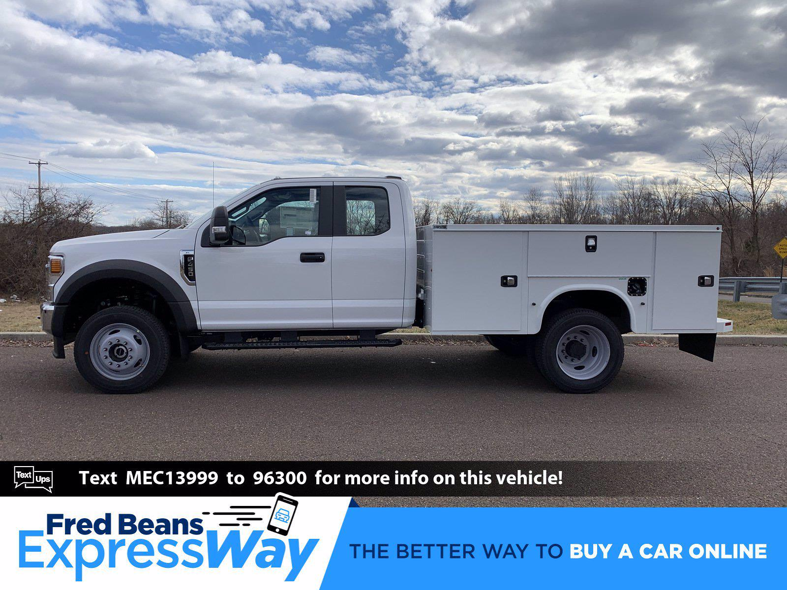2021 Ford F-450 Super Cab DRW 4x4, Knapheide Steel Service Body #FLU10141 - photo 1