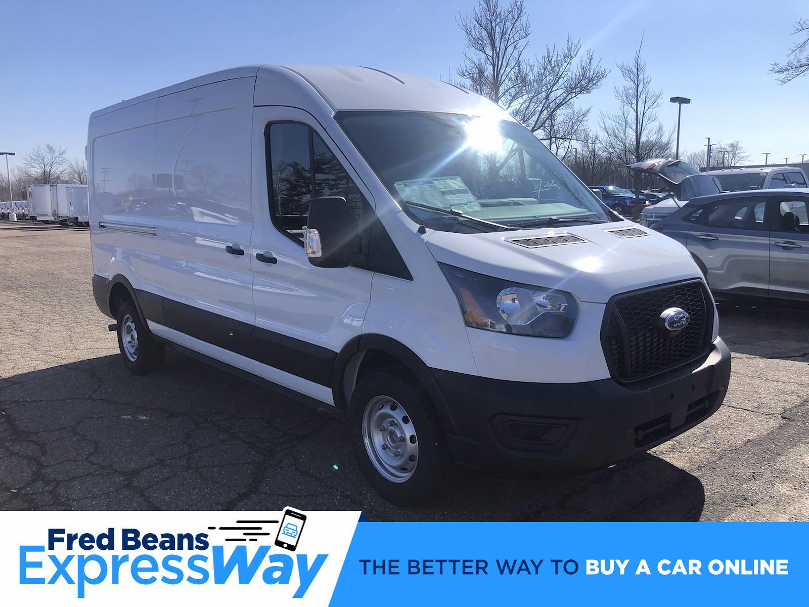 2021 Ford Transit 250 Medium Roof 4x2, Empty Cargo Van #FLU10164 - photo 1