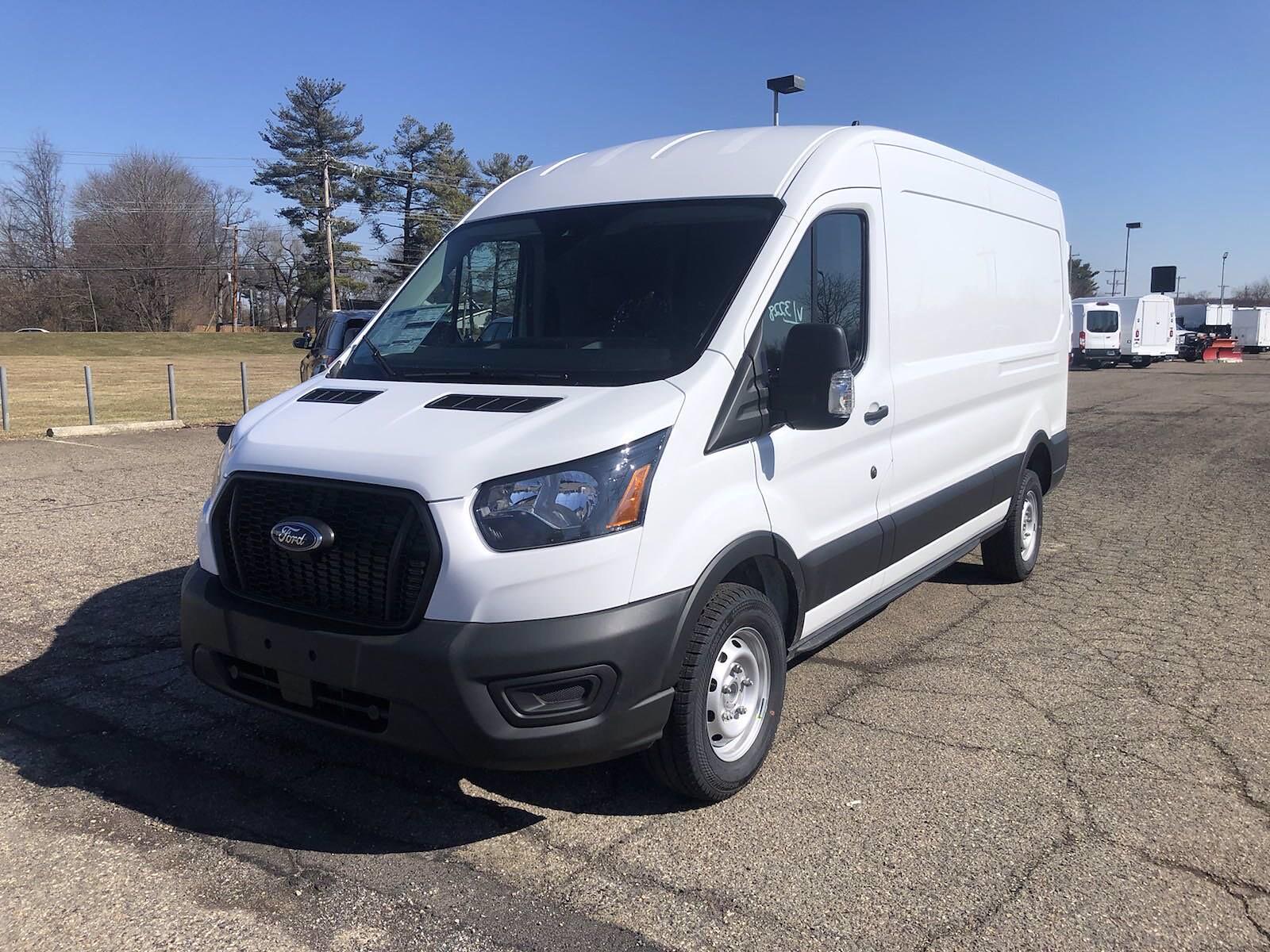 2021 Ford Transit 250 Medium Roof 4x2, Empty Cargo Van #FLU10164 - photo 4