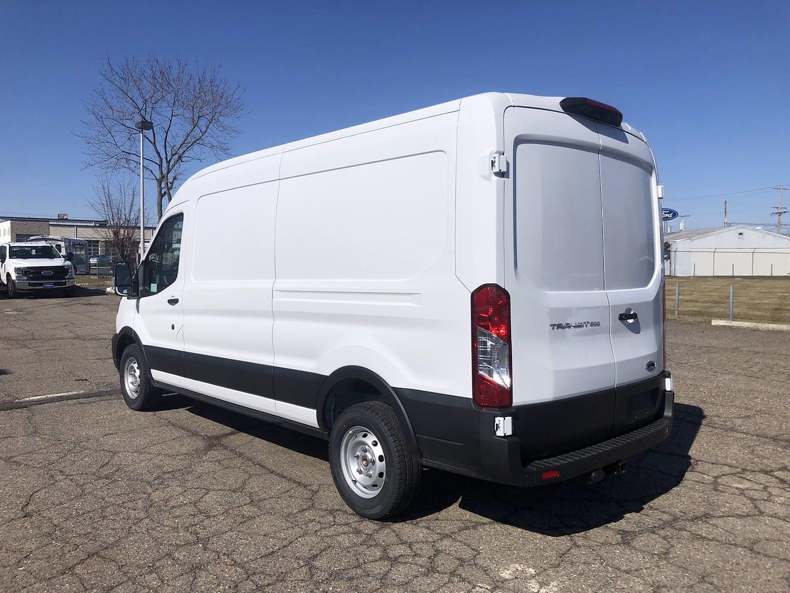 2021 Ford Transit 250 Medium Roof 4x2, Empty Cargo Van #FLU10164 - photo 8