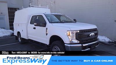 2021 Ford F-350 Super Cab 4x4, Reading Panel Service Body #FLU10194 - photo 1