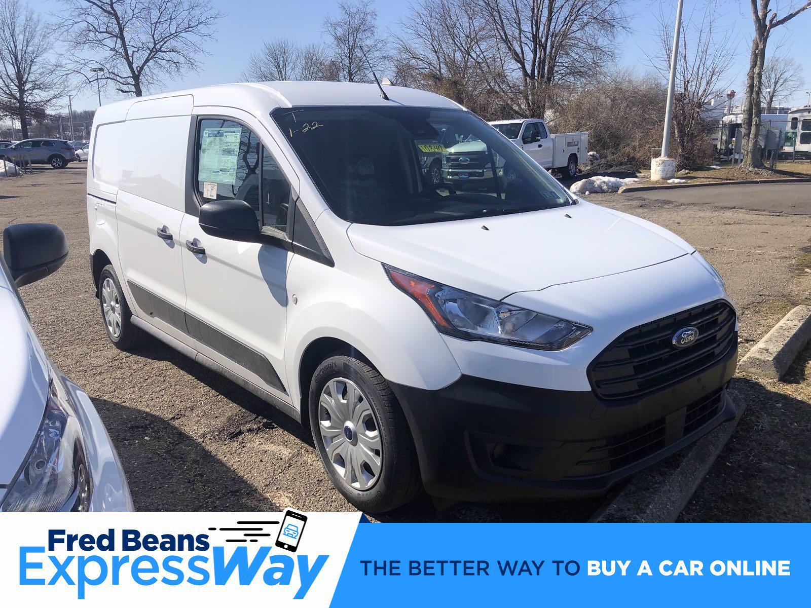 2021 Ford Transit Connect FWD, Empty Cargo Van #FLU10198 - photo 1