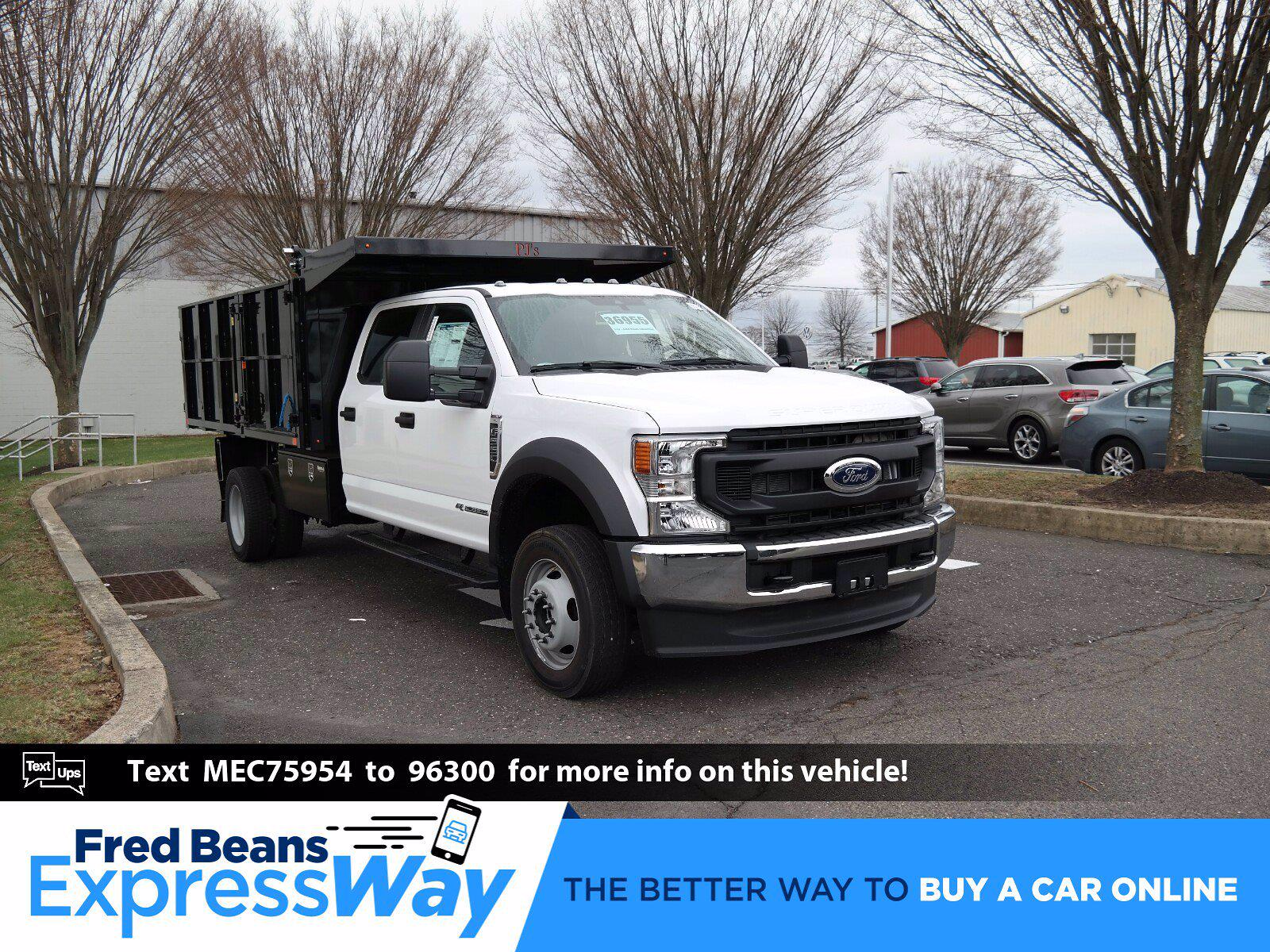 2021 Ford F-550 Crew Cab DRW 4x4, Cab Chassis #FLU10208 - photo 1