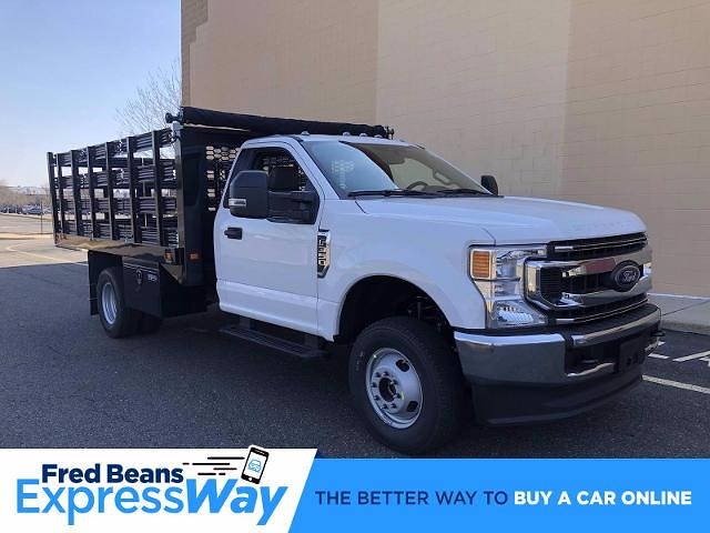 2021 Ford F-350 Regular Cab DRW 4x4, Knapheide Value-Master X Stake Bed #FLU10215 - photo 1