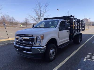2021 Ford F-350 Regular Cab DRW 4x4, Knapheide Value-Master X Stake Bed #FLU10215 - photo 4