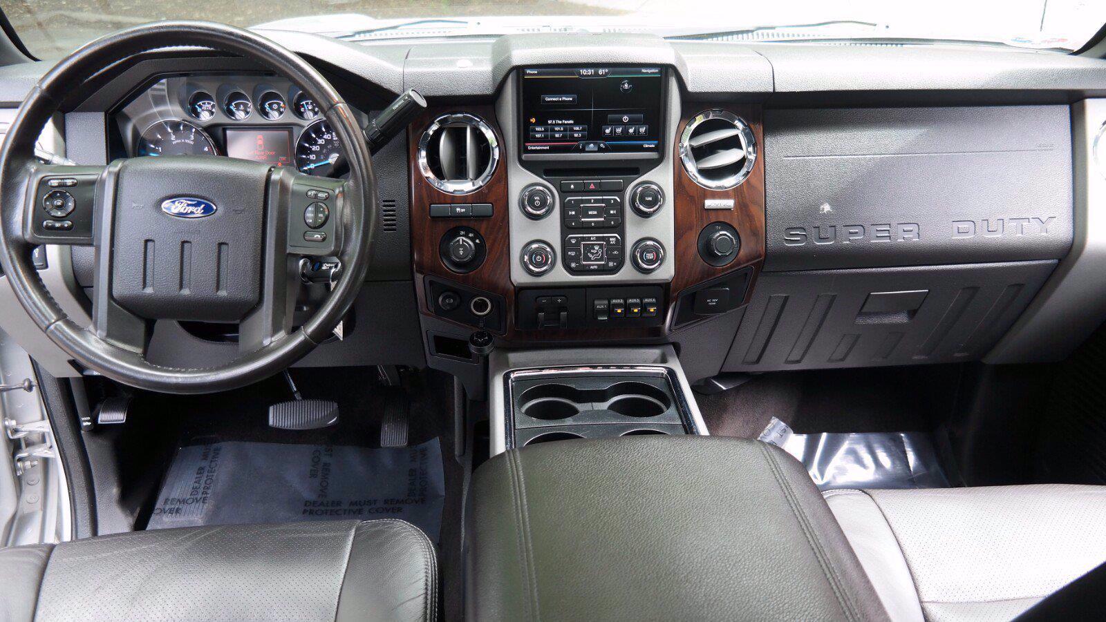2016 Ford F-350 Crew Cab 4x4, Pickup #FLU102351 - photo 21