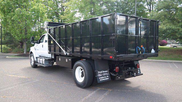 2022 Ford F-750 Crew Cab DRW 4x2, TP Trailers Inc. Landscape Dump #FLU10237 - photo 5